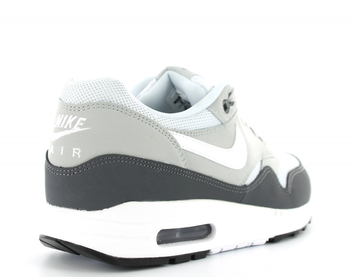 air max 1 essential gris blanc