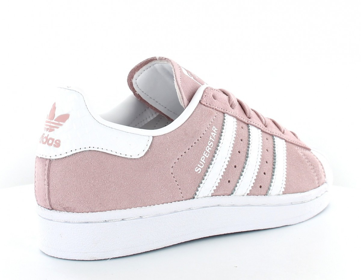 adidas superstar femme rose blanc achat vente de. Black Bedroom Furniture Sets. Home Design Ideas