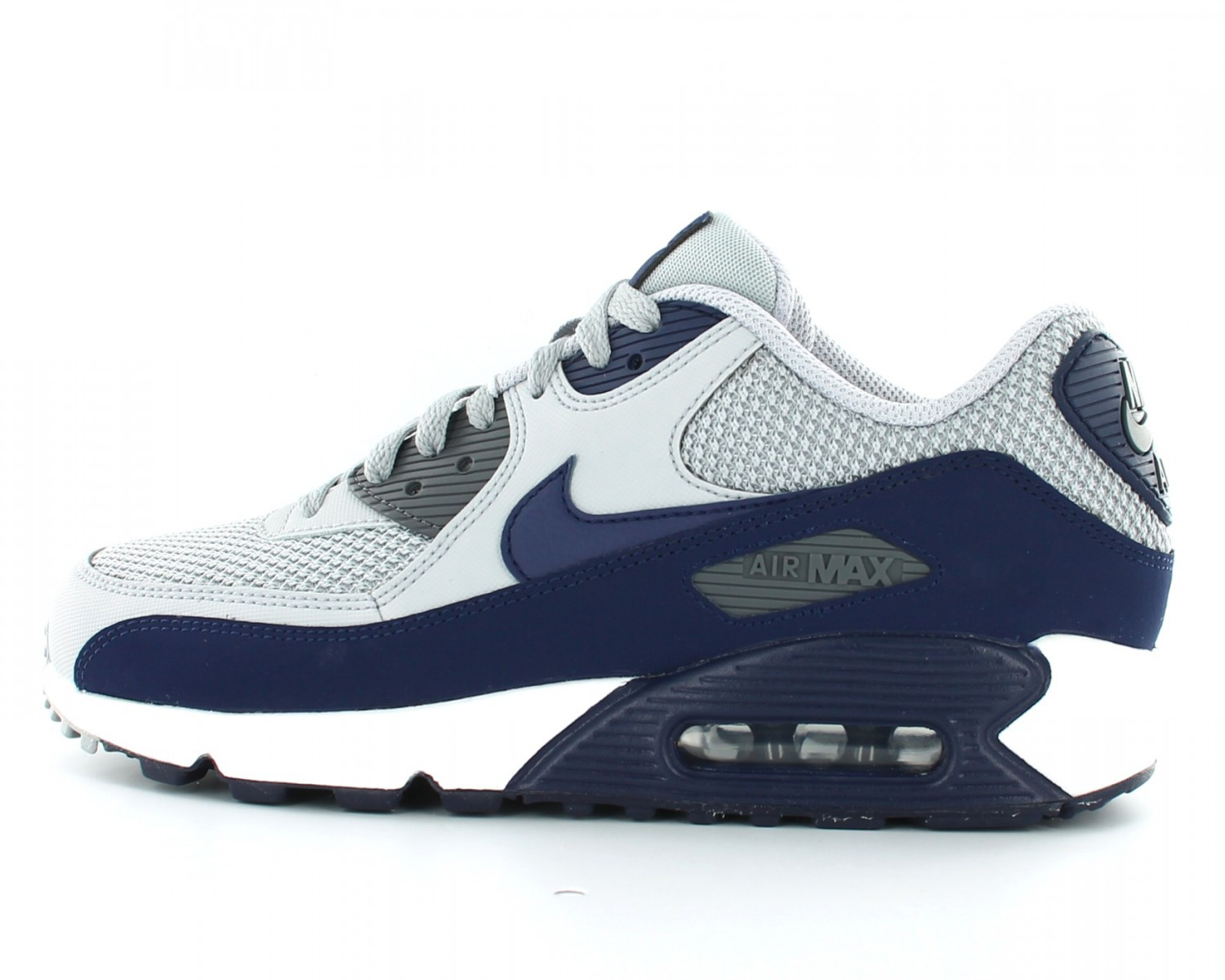 best service 67e7d ef547 ... low price nike air max 90 essential gris bleu marine beb10 876f4 ...